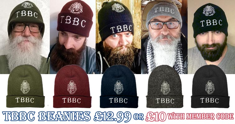 TBBC Beanies in Moss Green, Burgundy, French Navy Blue, Heather Grey and Black £12.99 inc UK P&P or £10 with TBBC Member discount