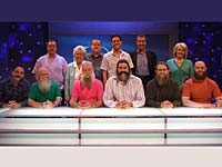 The Eggheads meet The British Beard Club team