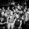 The GBMC, The Liverbeards and their many bearded buddies at The 13th Note in Glasgow - Click to enlarge