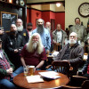 Members at The Queens Head, Kings Cross on March 2nd