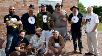 MThe Wessex Beardsmen and Friends at the Thorncombe Cider Festival - Click to enlarge