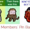 The 3rd Edition TBBC Pin badge is now available to Full Members